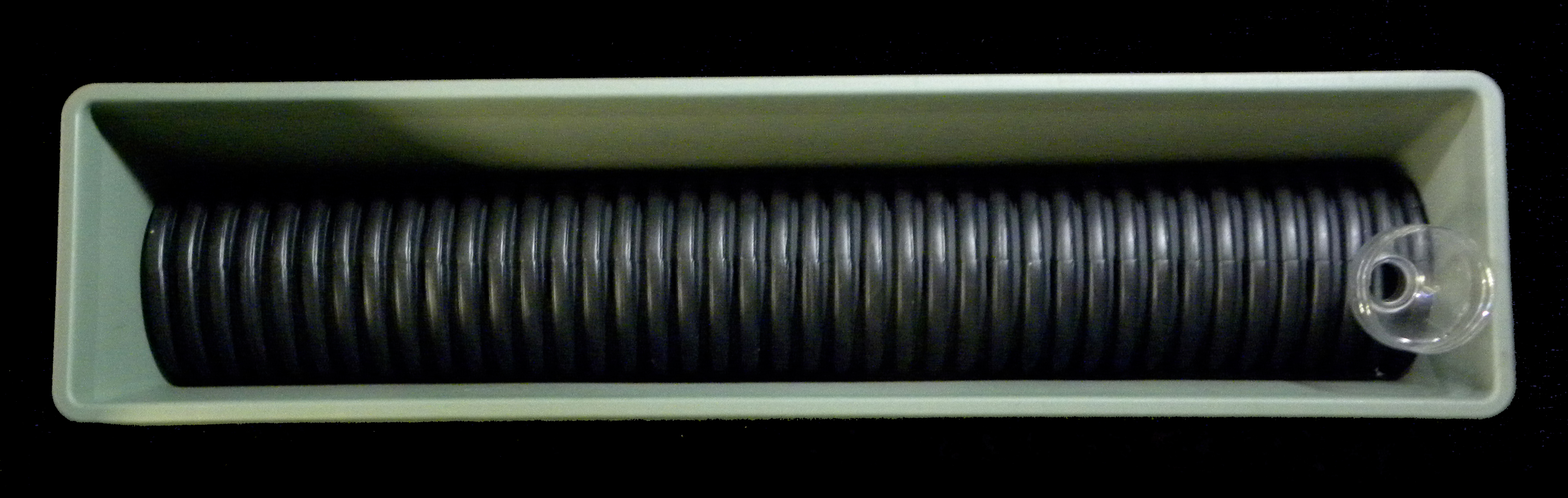 important corrugated drain pipe is perforated