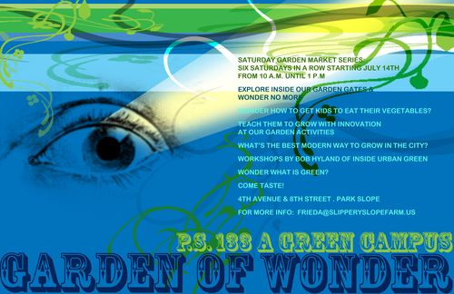 PS133 Garden of Wonder Poster